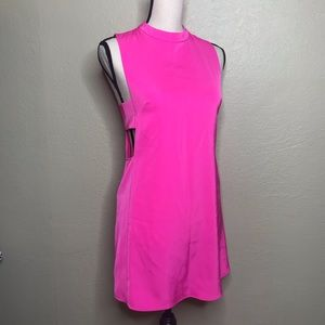 Polly | Neon Pink Dress